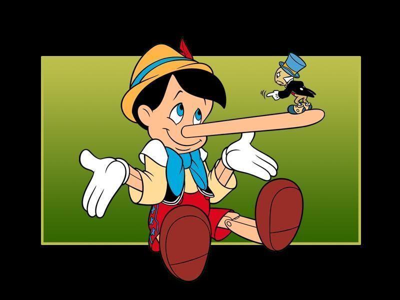 Les personnages dans Pinocchio