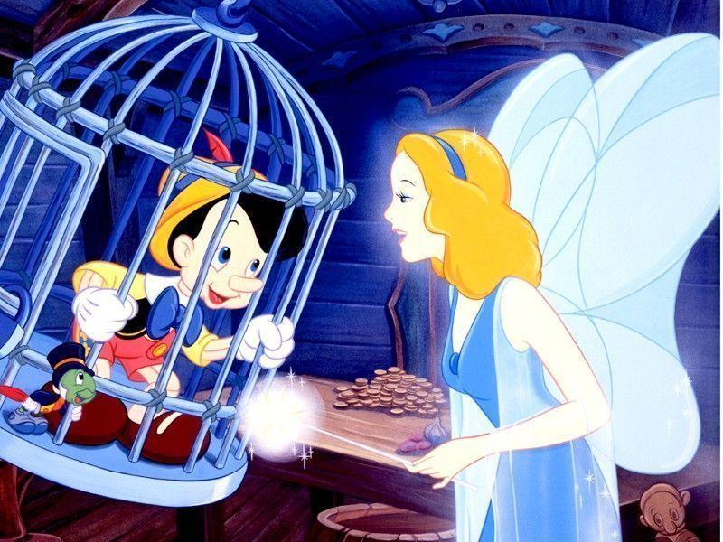 Pinocchio - Poisson rouge pinocchio ...